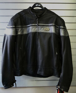 NEW Victory Leather Motorcycle Jacket $299