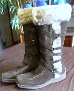 Womens winter boots Bos and Co Made in Portugal size 8