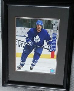 Eric Lindros - framed picture as a Toronto Maple Leaf