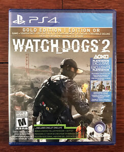 Watch Dogs 2 Gold Edition - PS4 - Neuf Scellé