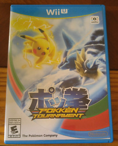 Pokken tournament $40 obo