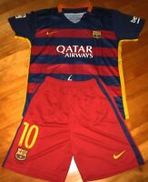 Jersey et Short BARCELONE 2016 - MESSI - HOME - KIDS