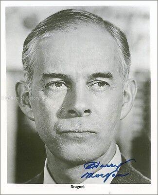 Harry Morgan   Photograph Signed
