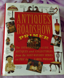 ANTIQUES ROADSHOW PRIMER. HARDCOVER BOOK for sale