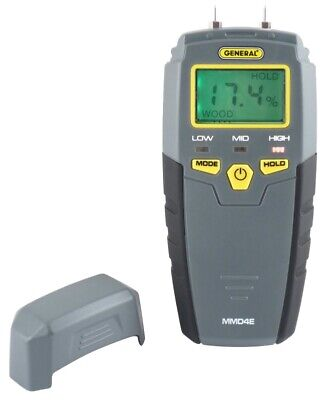 NEW General Tools MMD4E Digital Moisture Meter ACCURATE QUALITY TOOLS