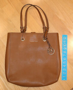 "Michael Kors Leather Purse - Carries 12"" Laptop - $180 OBO"