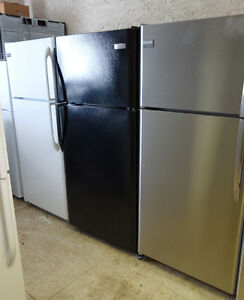 FRIDGES WHITE/BLACK/STAINLESS STEEL USED LIKE NEW FULL WARRANTY!