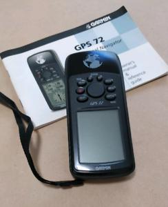 GPS 72 Garmin personal navigator