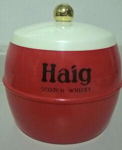 Vintage Haig Scotch Whisky Retro Plastic Ice Bucket by Insulex