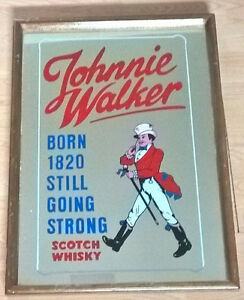 "Johnnie Walker ""Born 1820 Still Going Strong"" Scotch Whisky"