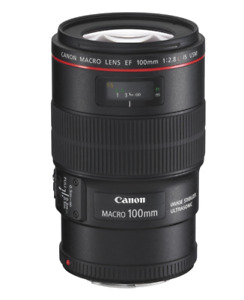 CANON MACRO LENS EF 100mm f2.8l IS USM
