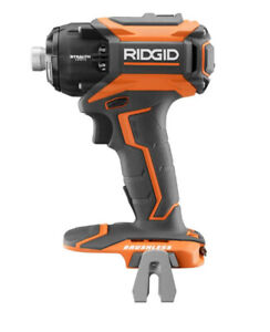 New! RIDGID 18V Gen5X STEALTH FORCE Brushless Impact Driver
