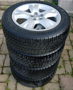 Toyota Matrix/ Corolla 16'' OEM  Alloy Rims with Winter Tires