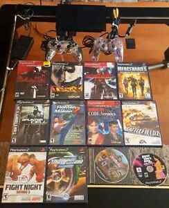 MEGA PLAYSTATION II BUNDLE / SUPER ENSEMBLE SONY PLAYSTATION II  West Island Greater Montréal image 2