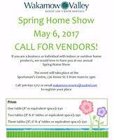 Wakamow Valley Spring Home Show