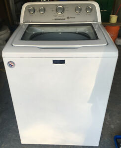 Washer, Top loads, White, Maytag