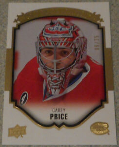Carey Price , 2015-16 , Upperdeck Gold Portraits , 06/25