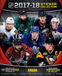 2017-18 Panini NHL Stickers for trade