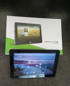 Acer ICONIATAB Android tablet - Almost brand new