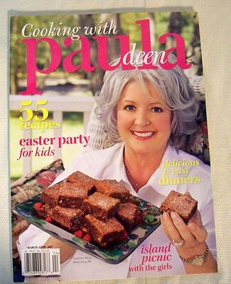 Cooking with Paula Deen March/April 2007, 55 Recipes Easter party for kids - Easter Recipes For Kids