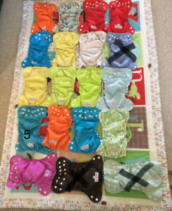 Size 1 Applecheek diaper covers and inserts