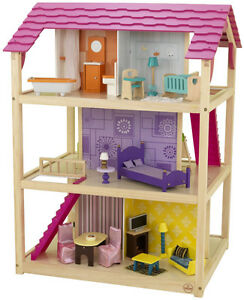 Kidcraft full size wooden doll house