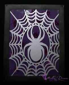 Halloween Spider Shadow Box  Peterborough Peterborough Area image 2