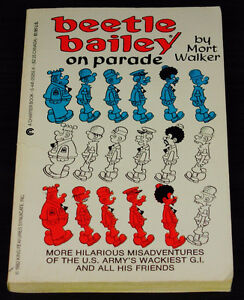 Beetle Bailey on Parade by Mort Walker (1984, Other)