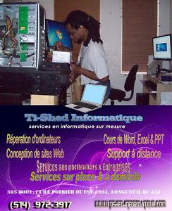 """Technicien informatique """" ENTREPRISES - PARTICULIERS"""""""