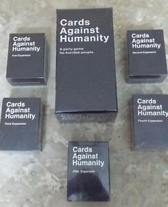 Cards Against Humanity - Brand New & Sealed Sets