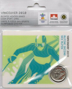 Canadian Olympics Alpine Skiing Error Coin