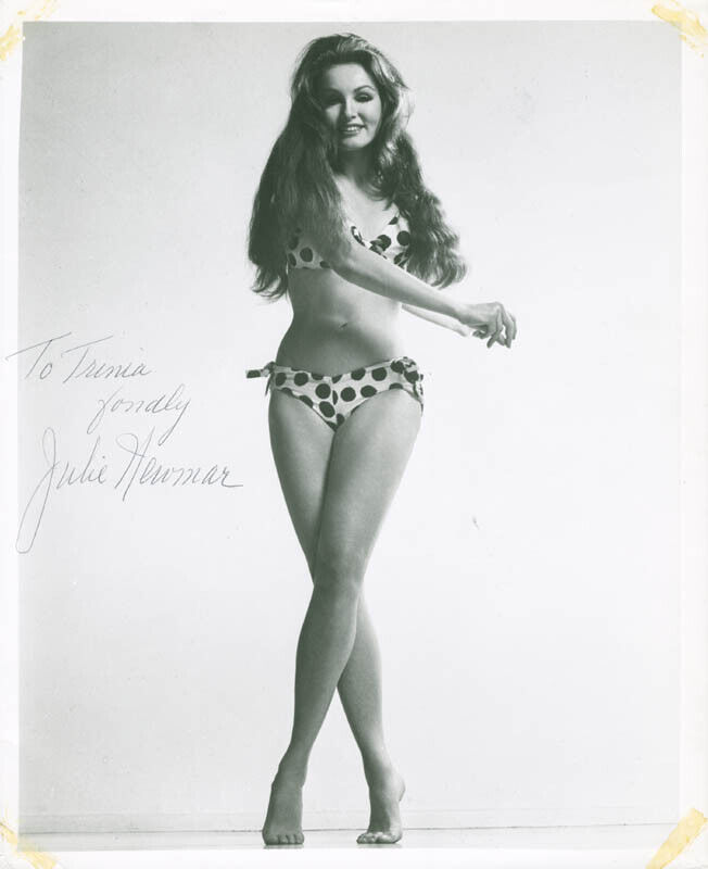 JULIE NEWMAR - INSCRIBED PHOTOGRAPH SIGNED