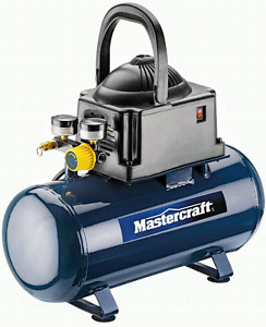 Mini Mastercraft Air Compressor