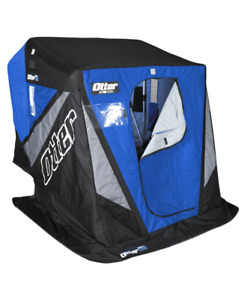 Wanted,  flip up style insulated ice fishing tent,  with sled.