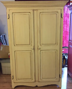 Beautiful hand crafted solid pine wardrobes
