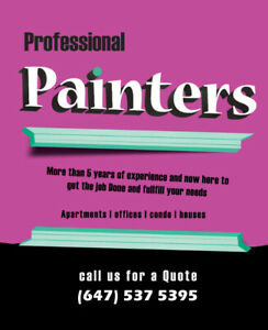 Proferssional Painters at a Reasonable Price!!