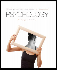 Psychology: From Inquiry to Understanding 3rd Edition