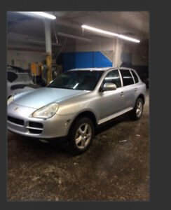 Porsche Cayenne  Turbo 2003-2009 for parts only 135000 km .