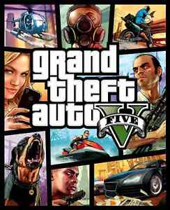 Grand Theft Auto V, for Xbox 360, CIB with manual and map