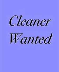 Experienced cleaner wanted