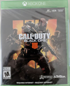 New XBOX Call of Duty Black Ops 4