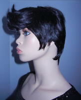 BRAND NEW: Short Black Styled Unisex Cosplay Wig