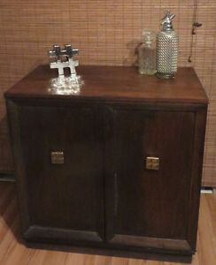 ANTIQUE CABINET 1930's/ COFFRET ANTIQUE