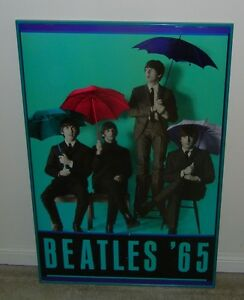 The Beatles Framed Metal Posters