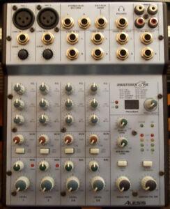 Mixer (Table de mixage) Multimix 6 FX Alesis comme neuve