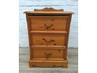 Solid Pine Bedside Cabinet (DELIVERY AVAILABLE)