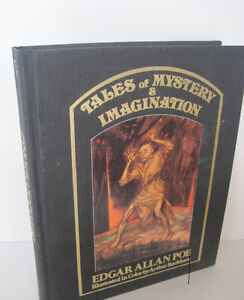 Edgar Allan Poe-Tales Of Mystery..1987 Hardcover -Excellent