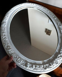Nice vintage distressed wall mirror