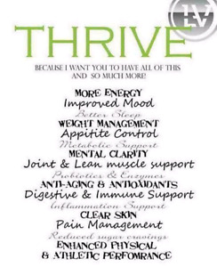 Wondering what THRIVE can do for you?