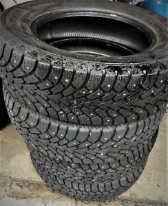 GoodYear studded Winter tires 215/65R16 $295